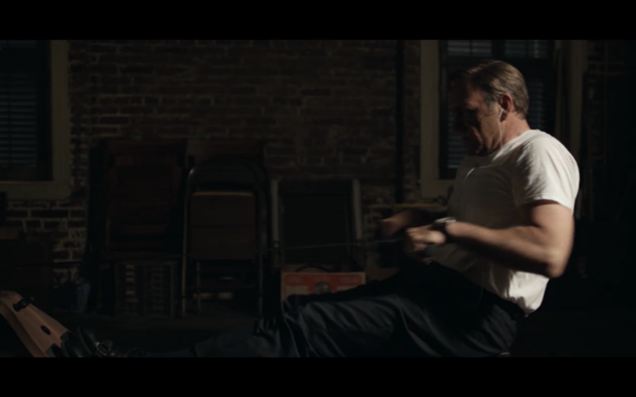 rowing machine from house of cards