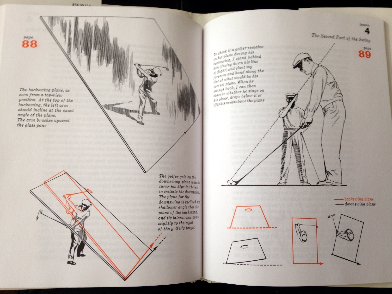 ben hogan five lessons italiano