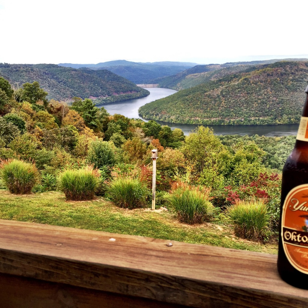 Fall beer with a view