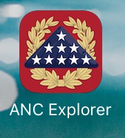 The ANC app is really amazing. It made finding all the grave sites a breeze