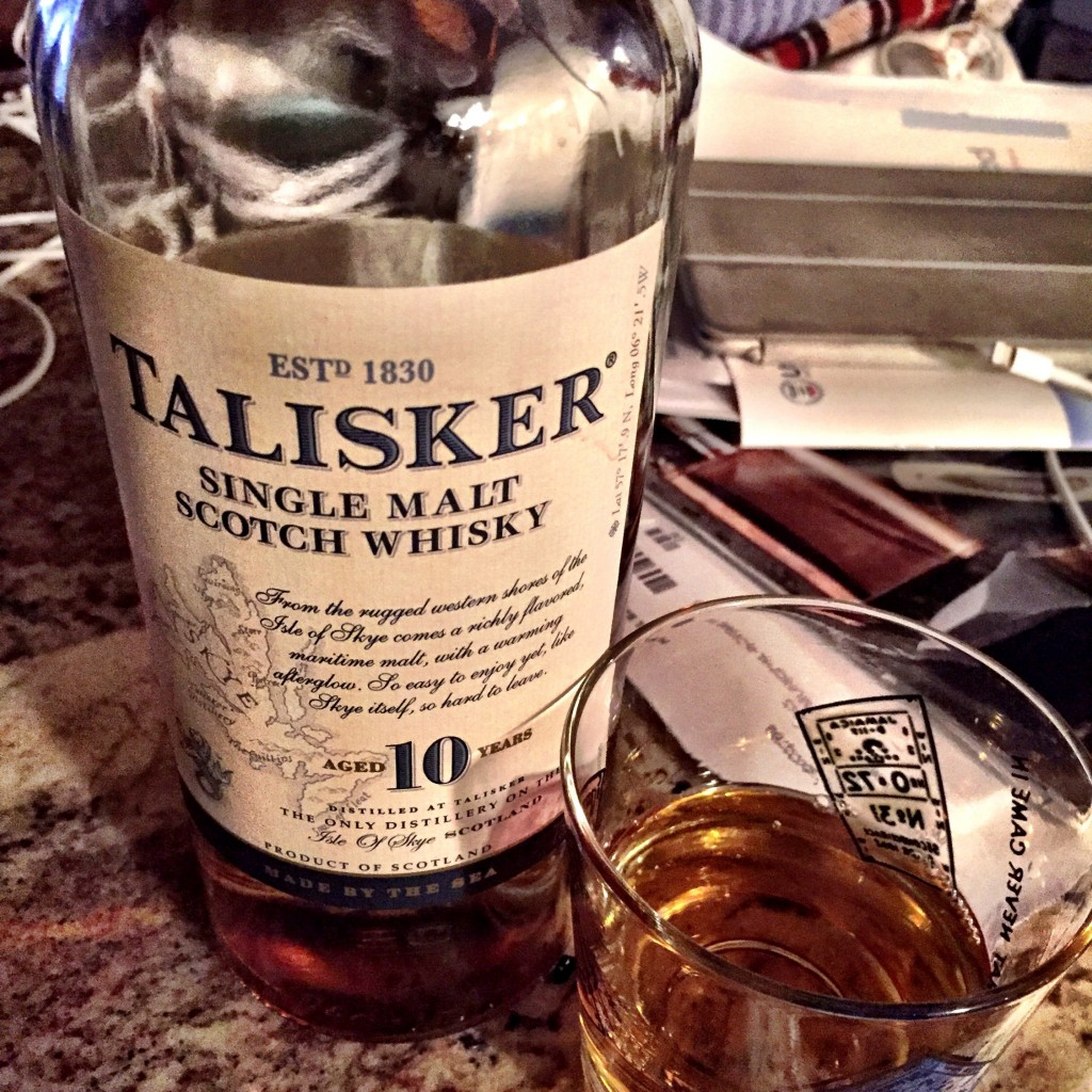 I've been trying for a Holmes Run trout for a good while now.  I celebrated my catch(es) with a nice dram of Talisker.