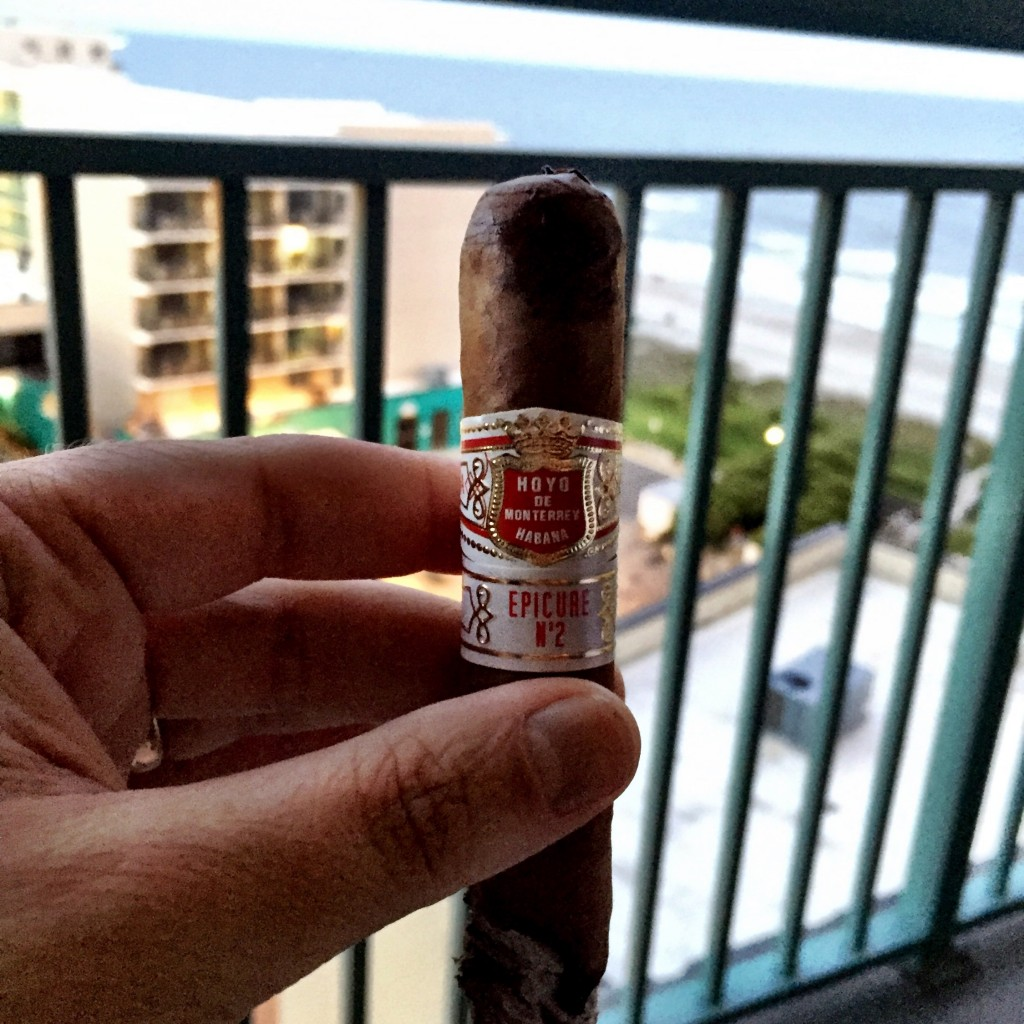 Cigar with a view