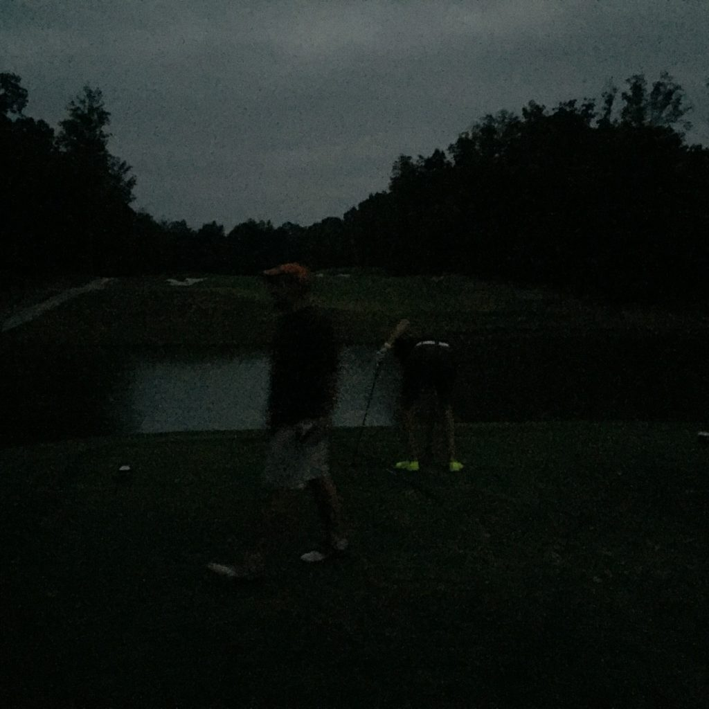 despite my bad wrist, I drove 18